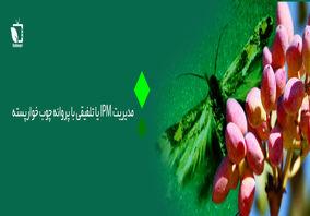 مدیریت IPM یا تلفیقی پروانه چوب خوار پسته(پروانه کرمانیا)