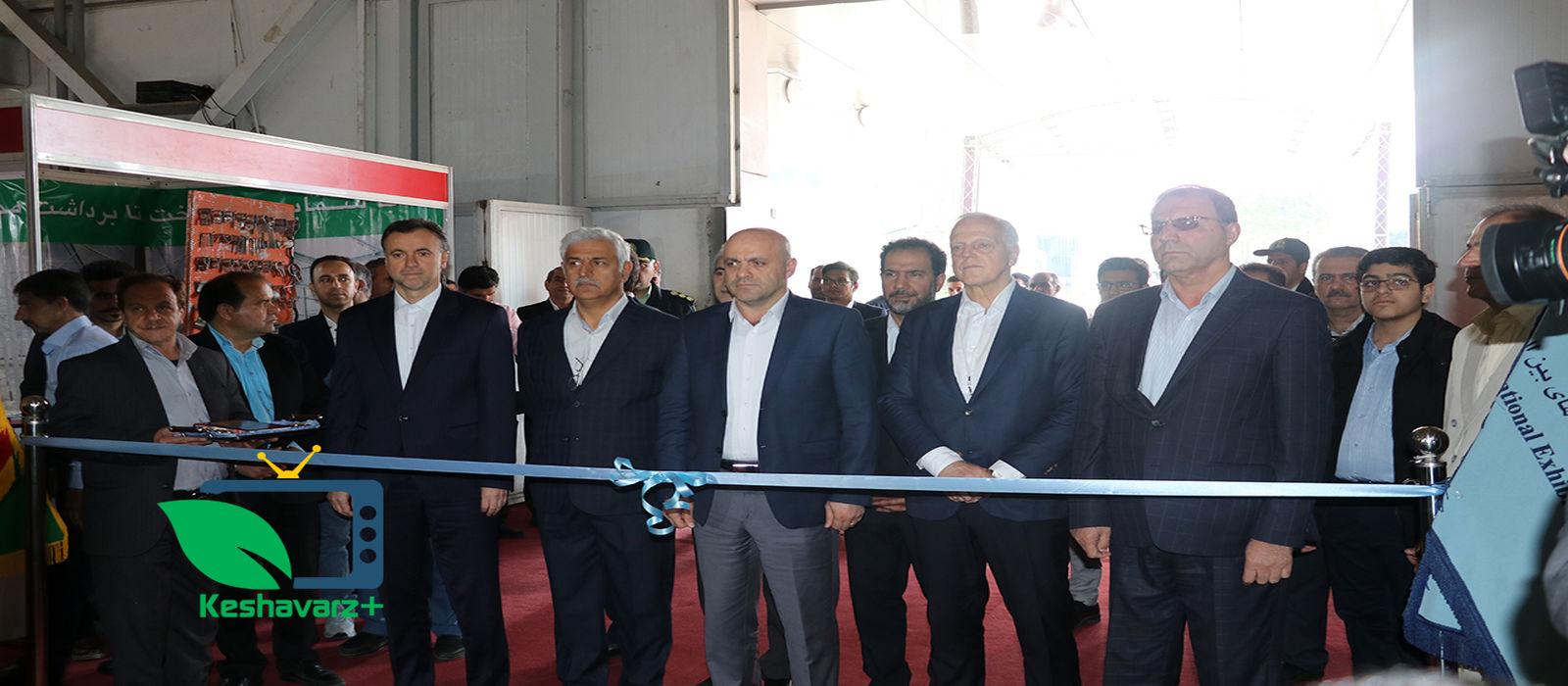 آیین افتتاحیه چهارمین نمایشگاه ایران سبز – ۲۲ فروردین ماه -نمایشگاه بین المللی تهران
