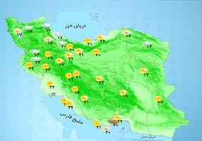کاهش محسوس دما در استانهای ساحلی خزر